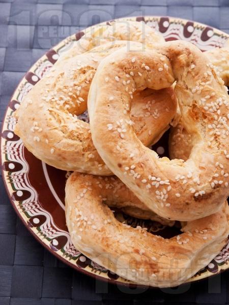 Домашни гевреци със сусам - снимка на рецептата